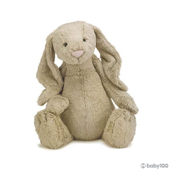 英國JELLYCAT 害羞賓尼兔系列 賓尼兔公仔 棕色 (51CM)