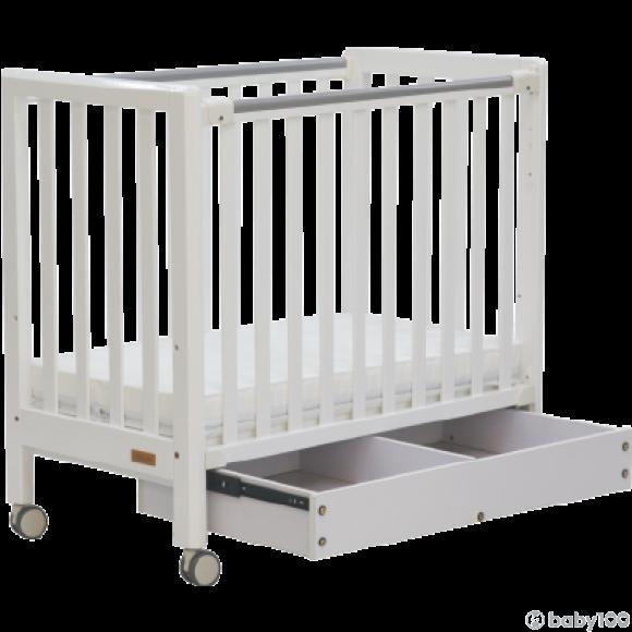 C-MAX 有柜桶嬰兒床 MS-2020 White