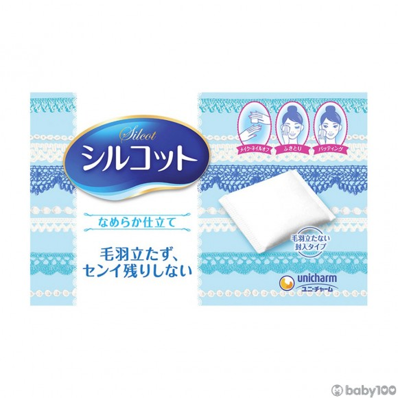 UNICHARM - 多用途化妝棉 (82枚)