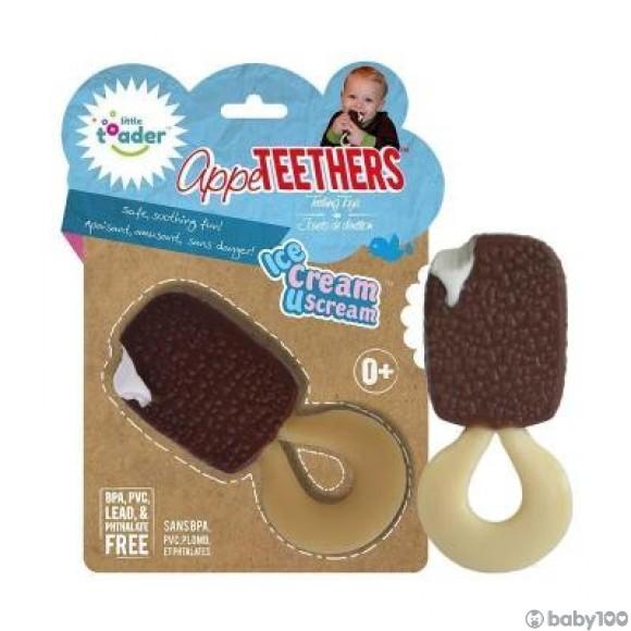Little toader 3D食物造型嬰兒牙膠玩具 (雪條)