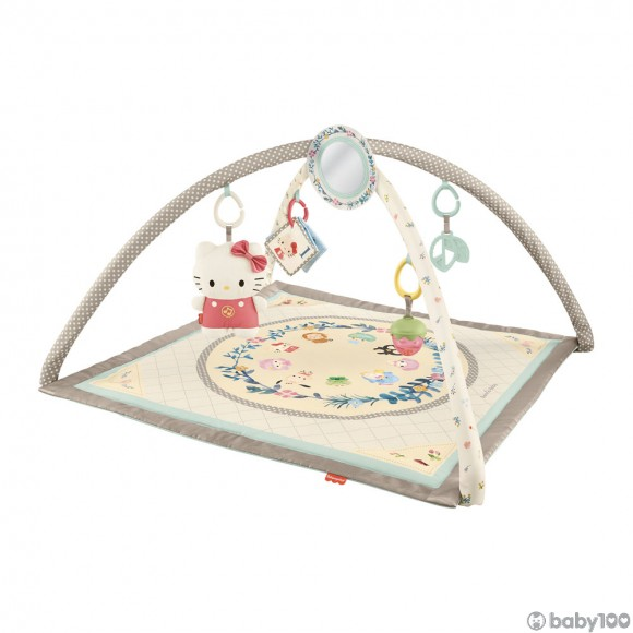 Fisher Price FP95280 Sanrio Baby協調訓練Sanrio Characters音樂健身器