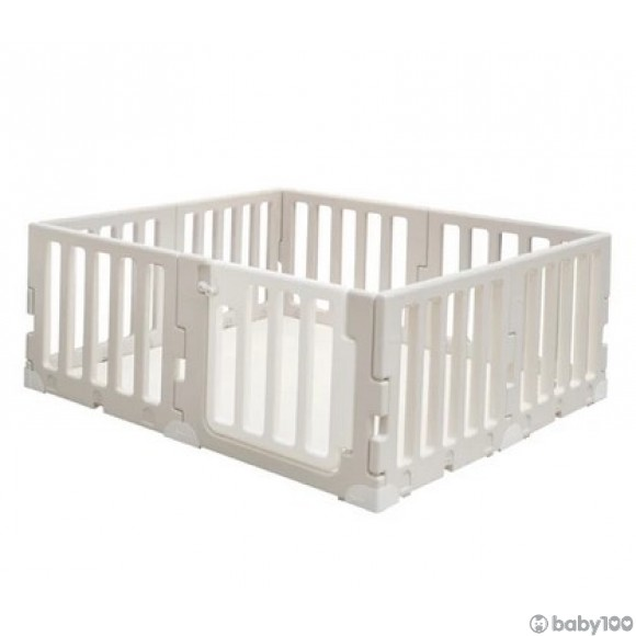 Caraz LINE 7+1 Baby Room and Play Mat Set with Panel Holders - Cozy Beige