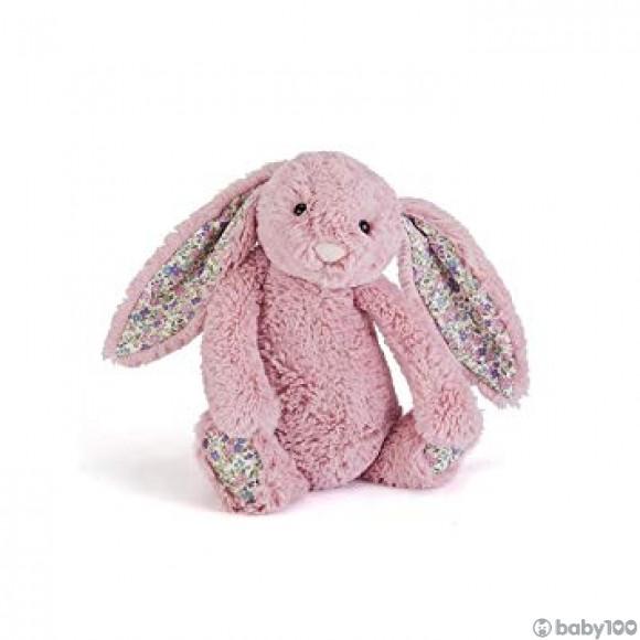 英國JELLYCAT 花耳朵賓尼兔系列 賓尼兔公仔 (鬱金香色) (36CM)