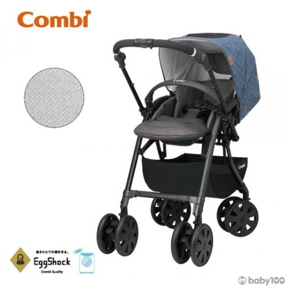 Combi Crossgo Celestial 嬰兒手推車 BLUE