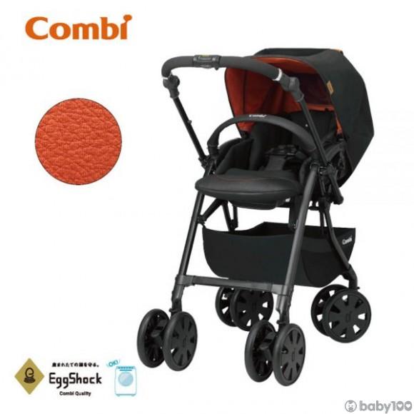 Combi Crossgo Tangerine 嬰兒手推車 BLACK