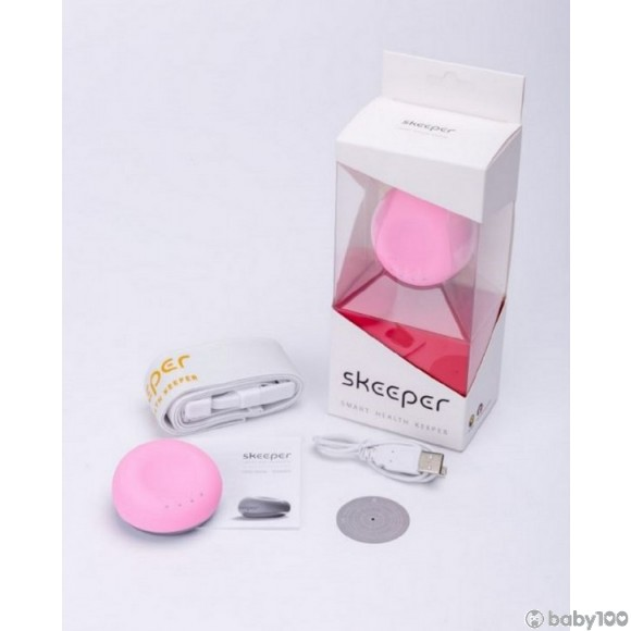 Skeeper智能無線心臟聽診器 (粉紅色)
