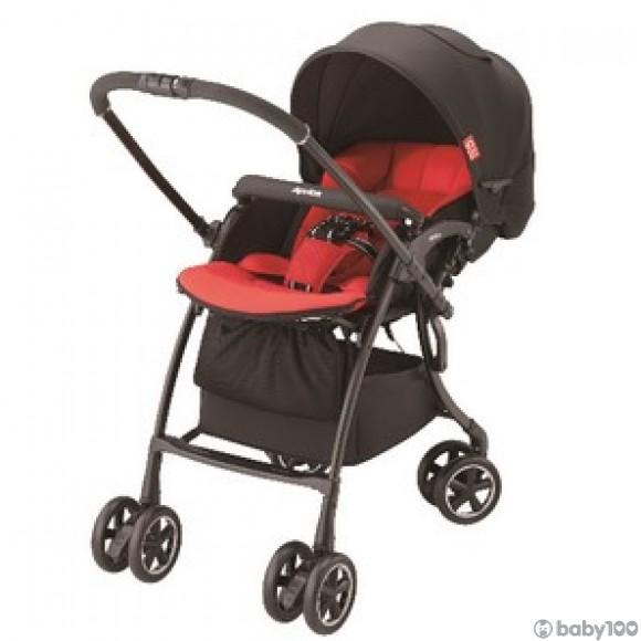 Aprica Luxuna Comfort 舒適系列雙向嬰幼兒手推車-星光紅