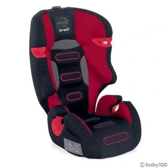 Brevi Aston b.fix Group 2/3 兒童汽車安全座椅 - 紅色