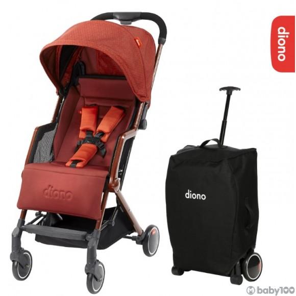 Diono‧traverze 嬰兒推車 (紅)