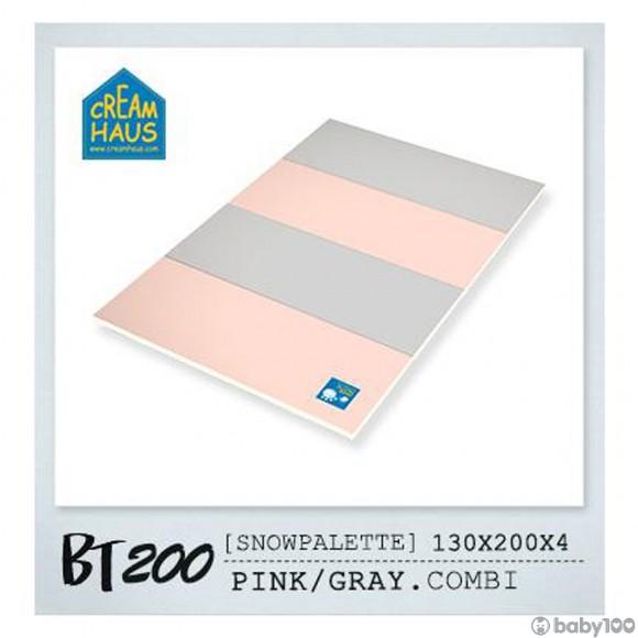 CreamHaus 冰雪地墊BT200  (粉紅 & 鐵灰) Snow Palette BT200 (Pink Gray Combi)