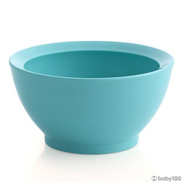 CaliBowl 專利防漏防滑幼兒學習碗 (8OZ) (湖水藍)