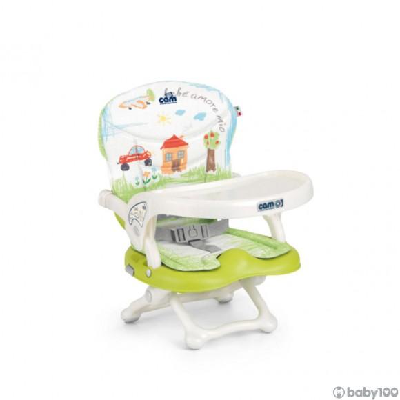 CAM Smarty 小餐椅 (綠色/小屋)
