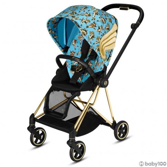 Cybex MIOS 特別版 輕便型嬰兒手推車 (粉藍)
