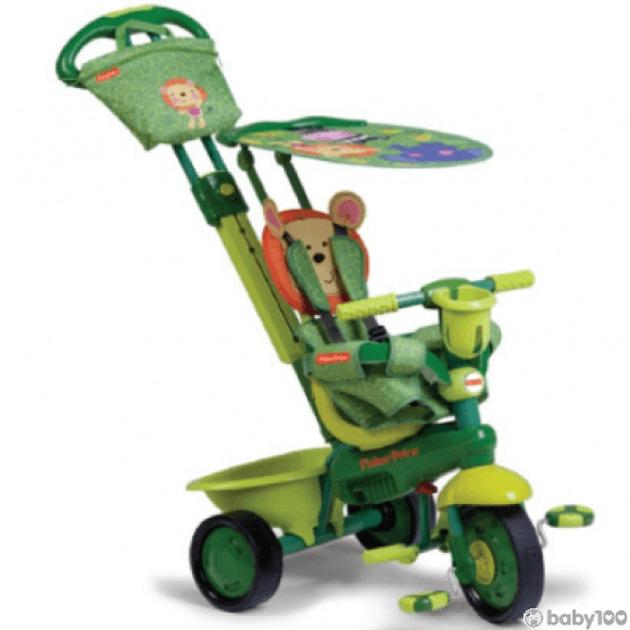 Fisher Price Royal 3合1 三輪車 (可愛獅子/綠)
