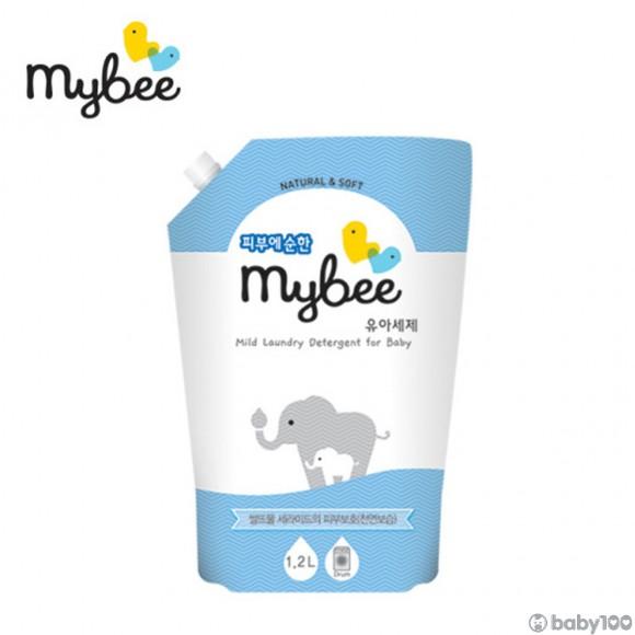 韓國Mybee 嬰兒輕柔洗衣液 補充裝 (1200ml)