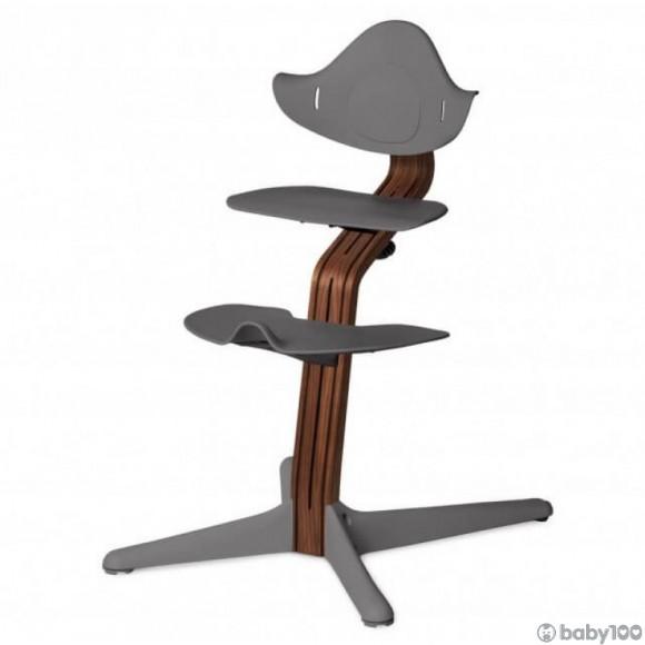 Nomi 多階段成長椅 (灰+深木)