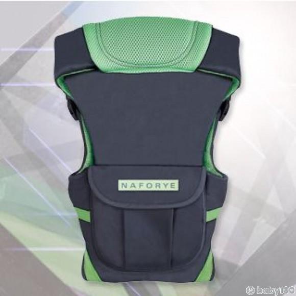 Naforye 哈格幫手多功能嬰兒揹巾 (灰綠)