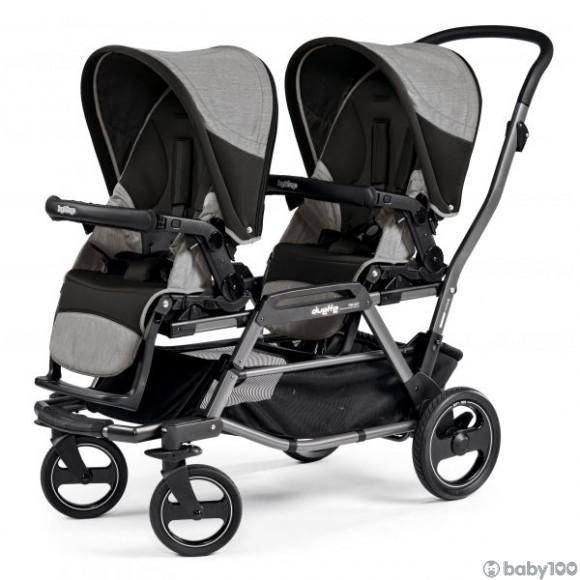 Peg-Perego Duette Piroet 嬰兒車 (霧灰)