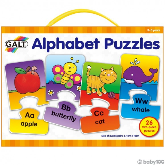益智玩具 Galt Alphabet Puzzles