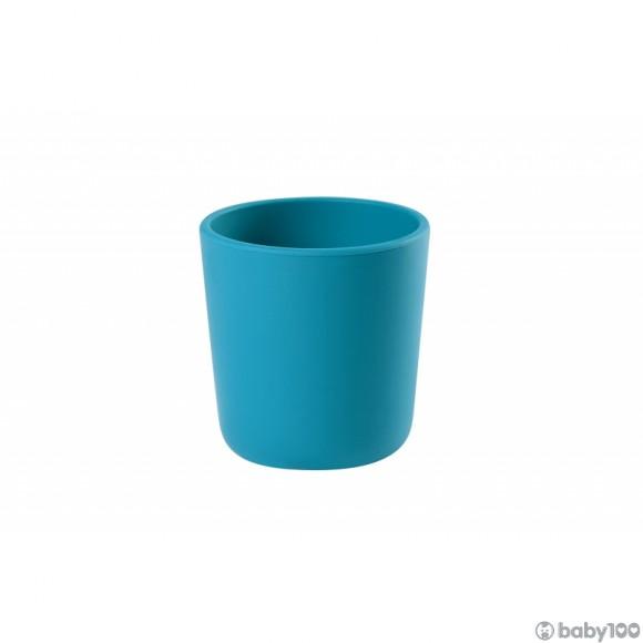 Beaba 矽膠杯 (藍)