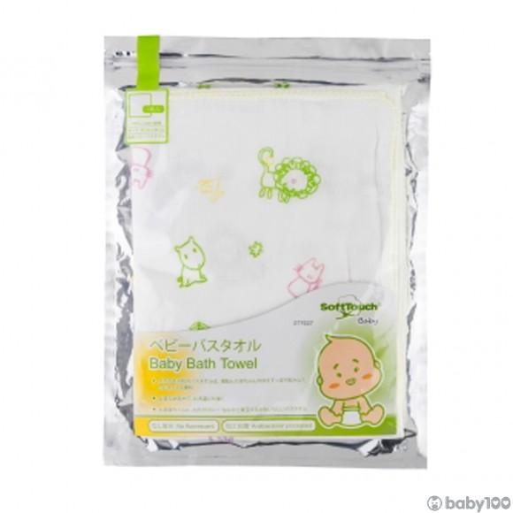 SoftTouch 嬰兒紗布浴巾 1枚入 Gauze Bath Towel (95cm x 95cm)