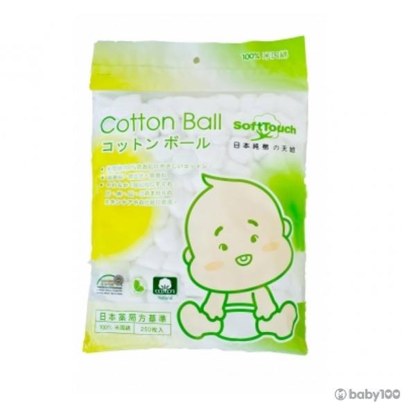 SoftTouch 脫脂棉花球