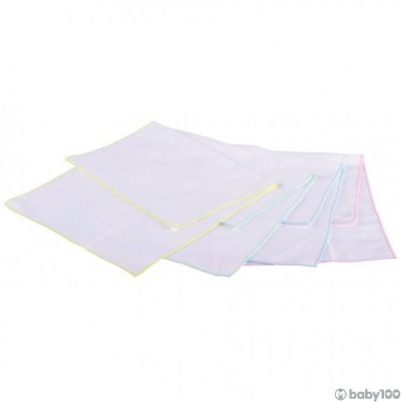 Minimoto 純棉紗面巾 (4條裝)