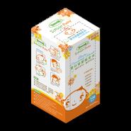 Tenson 嬰兒清潔棉柔巾 100片裝 (7.5x7.5cm)