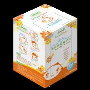 Tenson 嬰兒清潔棉柔巾 100片裝 (10x10cm)