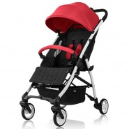 BRITAX B LIGHT DELUXE 嬰兒手推車 (紅)