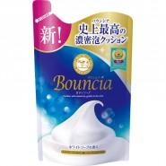 牛乳石鹼 - [補充裝] 牛乳保濕沐浴露 (400ml) - 純白花香/白
