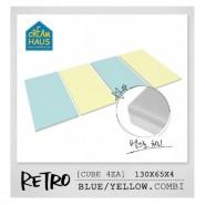 CreamHaus 冰棒貼地墊 (藍色&黃色)  Retro Palette  (Blue & Yellow)
