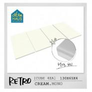 CreamHaus 冰棒貼地墊 (奶白色)   Retro Palette (Cream Mono)