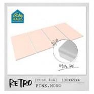 CreamHaus 冰棒貼地墊 (粉紅色)   Retro Palette (Pink Mono)