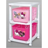 HELLO KITTY Toy station(儲物籃連架)