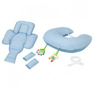 CLEVAMAMA Clevacushion 10合1多功能哺乳枕 (淺藍) (#3012)