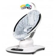 4moms® mamaRoo®4 電動嬰兒搖椅-銀色