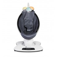 4moms® mamaRoo®4 電動嬰兒搖椅-透氣灰色