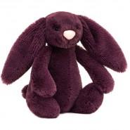 Jellycat Bashful Bunny Small Plum (18cm)