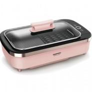 大宇 DAEWOO SK1 無油煙大尺寸韓式燒烤爐 (升級版) 粉紅色 香港行貨