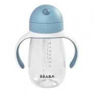 BEABA - 吸管杯 300ml 藍色