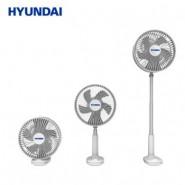 現代 Hyundai 無線折疊夾枱搖頭風扇 F8 香港行貨