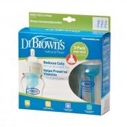 Dr Brown's - 防脹氣寬口奶瓶 - 3個裝