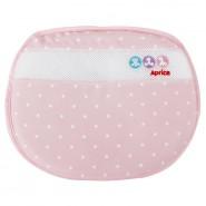 Aprica 可水洗透氣護頭枕 - 雪花粉紅 ( 新生兒適用 )