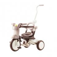 iimo #02 第二代日本可摺疊兒童三輪車 啡色 IM02FD-BR 香港行貨