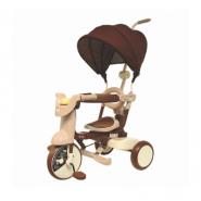 iimo #02 SS 第二代 SS 版日本可摺疊兒童三輪車 啡色 IM02SS-BR 香港行貨