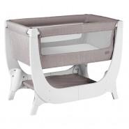 Shnuggle Air 透氣床邊嬰兒床 (94cm x 56cm x 68.5-83cm) 石灰色