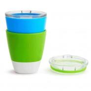MUNCHKIN SPLASH 杯連蓋 (2 件裝) (藍綠)