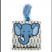 Jellycat 硬皮故事書 - If I Were a Elephant