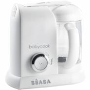Beaba Babycook Solo 4合1蒸煮攪拌輔食機 白銀色 912681 香港行貨